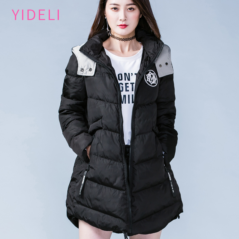 Women Winter long Thick Jacket Warm Woman Parkas Female Overcoat High Quality 2017 New Hooded Plus Size Loose coat 4XL 5XL 2015 new hot winter cold warm woman down jacket coat parkas outerwear hooded loose luxury long plus size 2xxl splice cloak