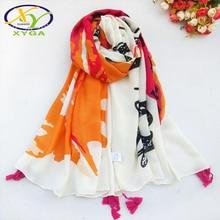 1PC Cotton Polyester Feather Women Scarf Long Tassel Autumn Elegant Ladies Shawl Soft Quality Exquisite Pashimina Spring Summer