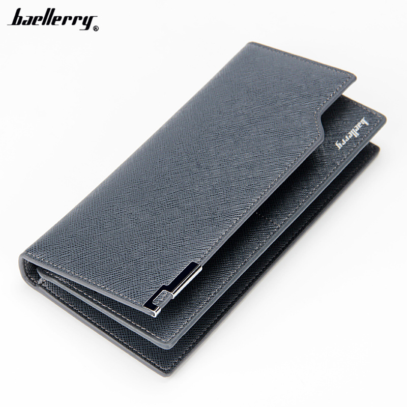 2017 Casual Luxury Men Slim Long Wallet Coin Purse Male Money Phone Pocket Pochette Clutch Bag Card Holder Passport Case Cover casual pu leather men hasp long wallet luxury money coin pochette slim portf purse card holder pocket clutch male pouch bag