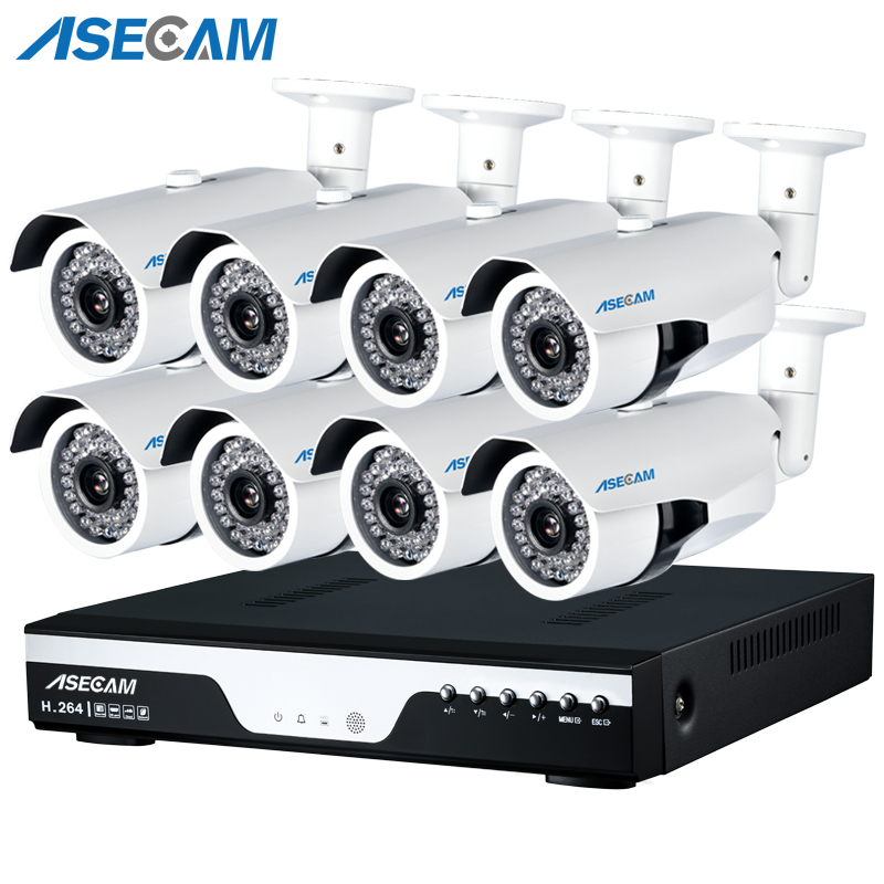 HD 3MP 8CH 1920p CCTV Camera DVR Video Recorder AHD Outdoor White Bullet Security Camera System Kit P2P Surveillance Email alertHD 3MP 8CH 1920p CCTV Camera DVR Video Recorder AHD Outdoor White Bullet Security Camera System Kit P2P Surveillance Email alert