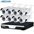 HD 3MP 8CH 1920p CCTV Kamera DVR Video Recorder AHD Outdoor Weiß Bullet Sicherheit Kamera System Kit P2P Überwachung e mail alarm-in Überwachungssystem aus Sicherheit und Schutz bei