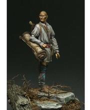 1/24 75 мм Охотник лесной древний 75 мм игрушка модель смолы миниатюрная фигурка из смолы Unassembly Неокрашенная