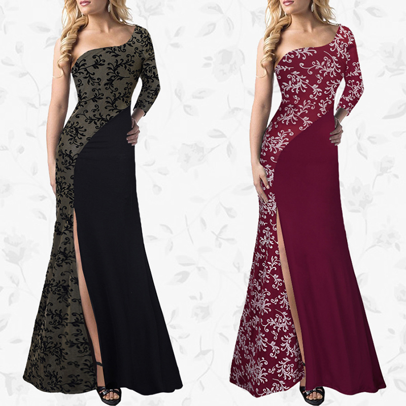 MYCOURSE Elegant Lace Patch Mermaid Long Dress 2017 Sweetheart Ruched Sexy  Split Front Formal Dresses Party Prom Gowns Dresses -in Dresses from Women s  ... c2bc3b3113fb
