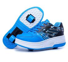 Hot Sale Child heelys roller shoes with wheels kids shoes sneakers for children boys girls zapatillas con zapatos de ruedas