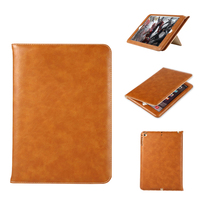 Luxury PU Leather Case For IPad Mini Air Pro Retro Briefcase Auto Wake Up Sleep Hand