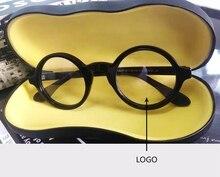 Johnny Depp Glasses Men Acetate Eyeglass Frame Brand Design Computer Transparent Optical Women Top Quality S314