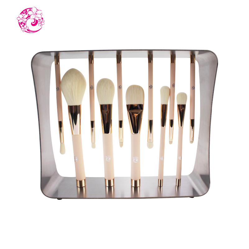 ENERGY Brand Professional 11pcs Magic Makeup Wool Fiber Hair Magnet Brush Set Brochas Maquillaje Pinceaux Maquillage cs1 4kg refill laser copier color toner powder kits for xerox 113r00692 113r00689 113r00690 phaser 6120 6115mfp 6115 6120mfp printer