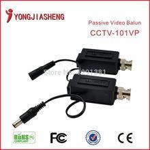 5Pairs pack CCTV Twisted Video Balun Passive Transceivers DVR Camera BNC RJ45 UTP