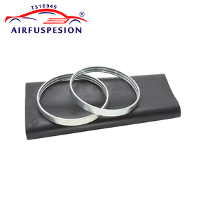 Image 5 - Rear Rubber Air Spring Sleeve With Rings for mercedes W220 Air Suspension Bladder 2203205013  2203202338