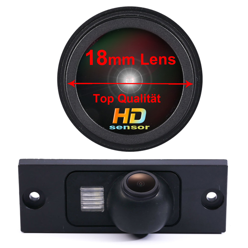 Night vision HD CCD 1280*720 pixels 18 mm lens parking rear view car camera for Jeep Dodge Chrysler Grand Voyager waterproof