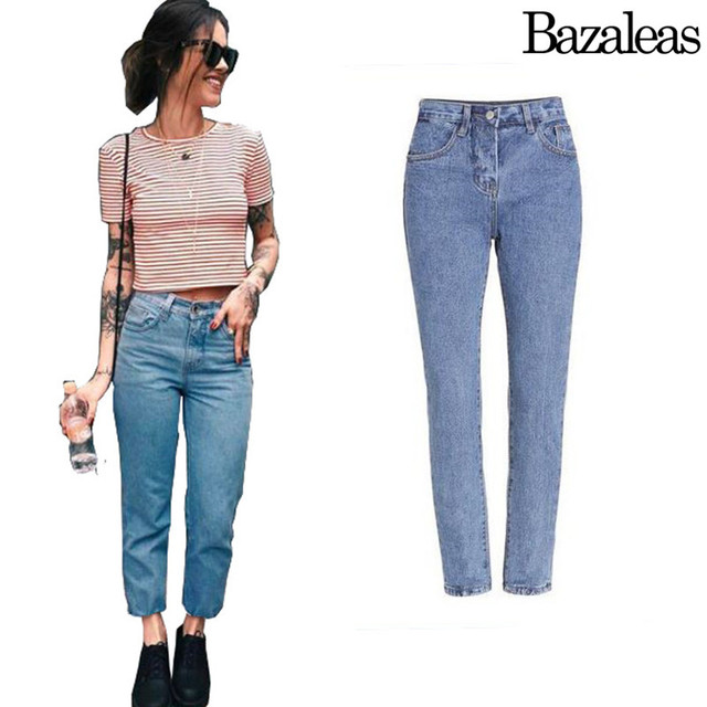 2016 women AA style fashion brand ankle length jeans autumn spring jeans quality  trousers pants