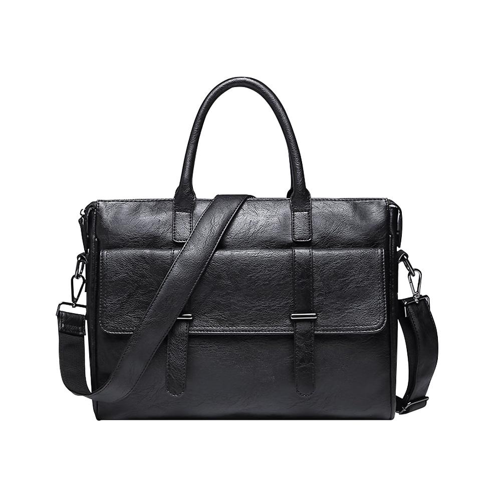 New Men Briefcase Handbag Business Men Messenger Bags Leather Laptop Bag Casual Man Bag Shoulder Bags Bolsa Maleta Travel Bags