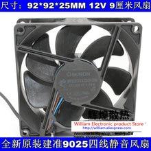 New Original SUNON MF92251V3-Q020-Q99 DC12V 1.74W 92*92*25MM 4 lines for BenQ Optoma projector cooling fan