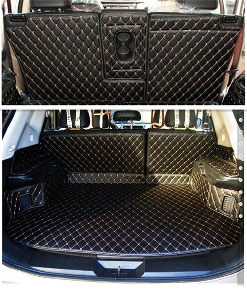 Haute qualité! Tapis de coffre de voiture spécial pour Nissan x-trail 5 sièges T32 2019 tapis de coffre durable pour XTRAIL 2018-2014