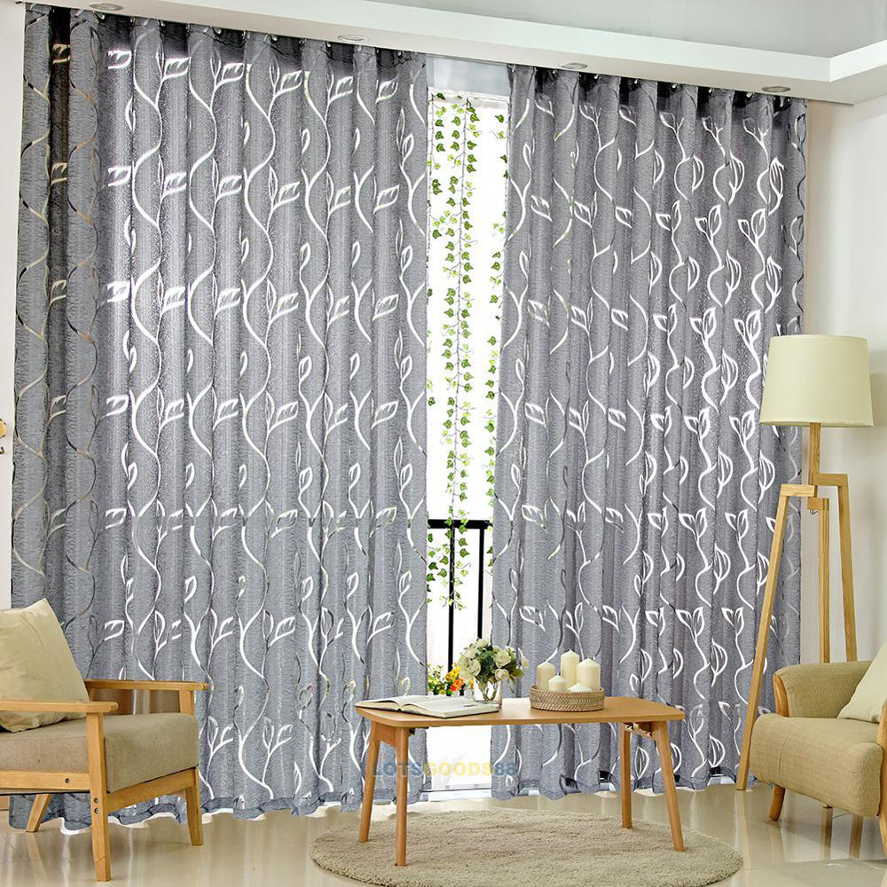 2013 Luxury Living Room Curtains Designs Ideas: Luxury Fashion Style Semi Blackout Curtains Kitchen