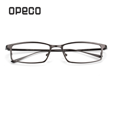 b391640c4da Opeco Men s Pure Titanium Eyeglasses business Frame RX able Glasses Full Rim