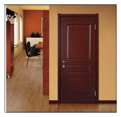Foshan Wooden Doors Compound Wood Paint Door Interior Solid Bedroom Bathroom