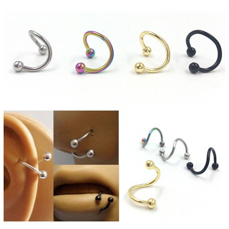 Popular Nose Piercing Types Buy Cheap Nose Piercing Types