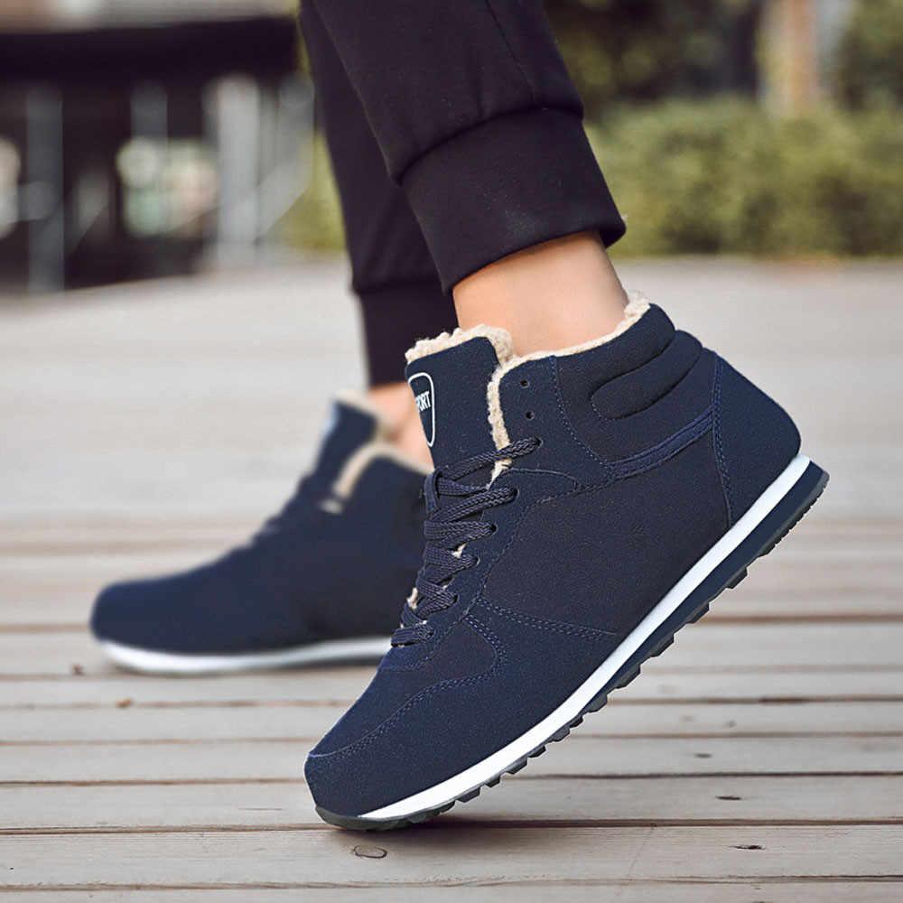 YOUYEDIAN сапоги Для мужчин обувь зима теплый плюш зимние ботильоны Рабочая обувь сапоги tenis masculino adulto para correr atacado # a3