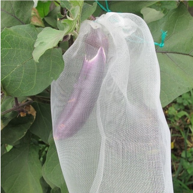 100PCS Garden Plants Vegetable Fruit Protection Bag Reusable Anti Bird Drawstring Netting Mesh Bag For Agriculture Pest Control in Repellents from Home Garden