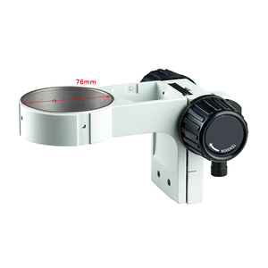 Image 3 - Articulating Clamp Holder 76mm 현미경 스탠드 조정 가능한 방향 암 스테레오 줌 Microscopio Trinocular 용 액세서리
