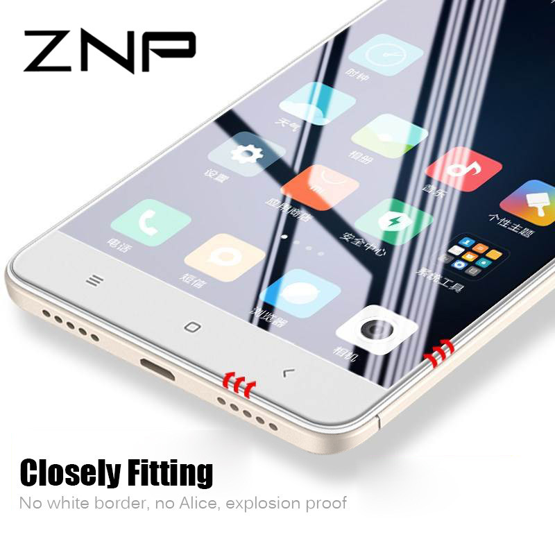 ZNP Protective Glass For Xiaomi Redmi 4x Note 4 Screen Protector Flim 9H On For Xiaomi Redmi 4x Note 4 Global Tempered Glass