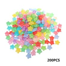 200PCS Pentagram Colorful Ball Fun Ball Soft Plastic Star Shape Ocean Ball Baby Kid Toy Swim Pit Toy