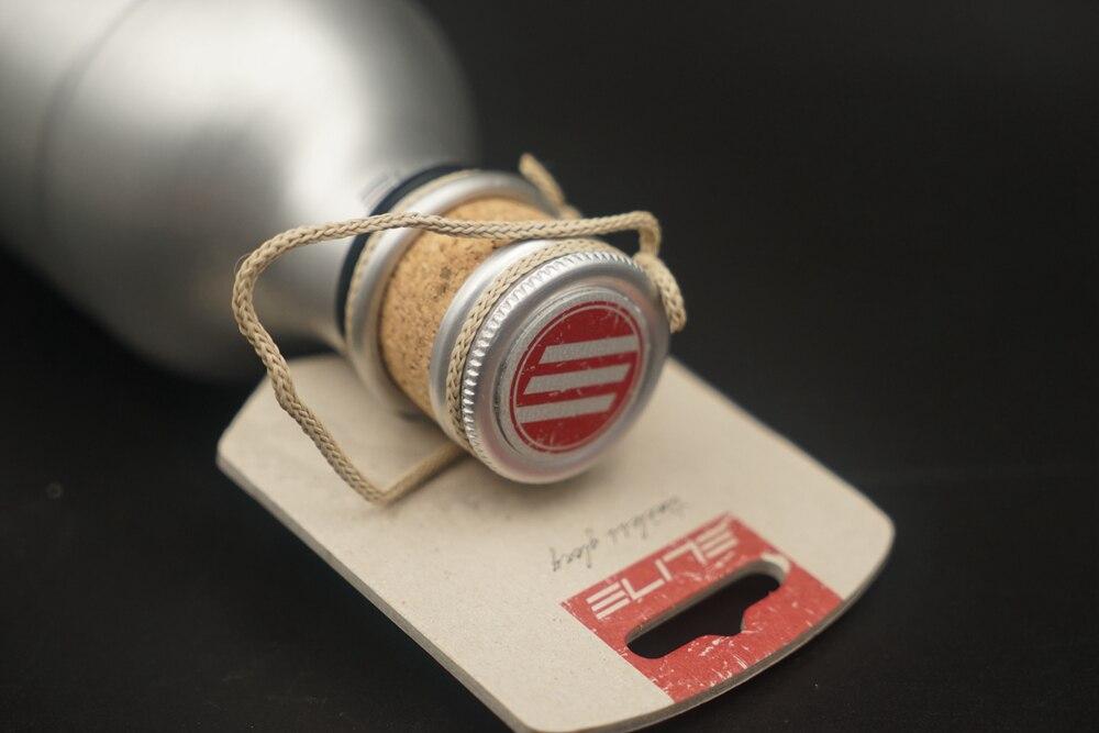 Elite L/'Eroica Borraccia Vintage Aluminum Water Bottle