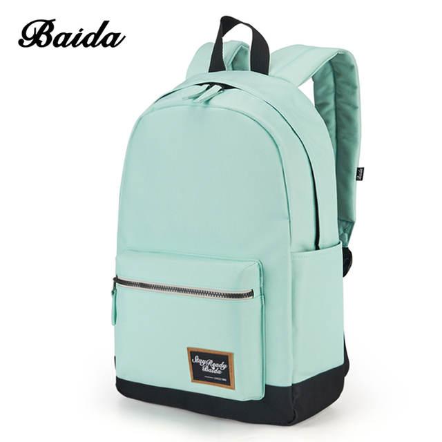 Online Shop <b>2018 Fashion</b> Backpack for Women Leisure Trip ...