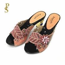 Vrouwen hoge hakken Mooie dames schoenen met diamanten party schoenen