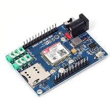 Sim868 основной плате GSM GPRS GPS Bluetooth 4 в 1 модуль с Телевизионные антенны для Arduino 51 STM32 Поддержка голос Короткие сообщение TTS DTMF