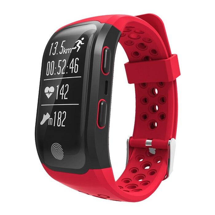 S908 GPS Smartband Heart Rate / Sleep Monitor Sedentary Reminder Pedometer IP68 Waterproof