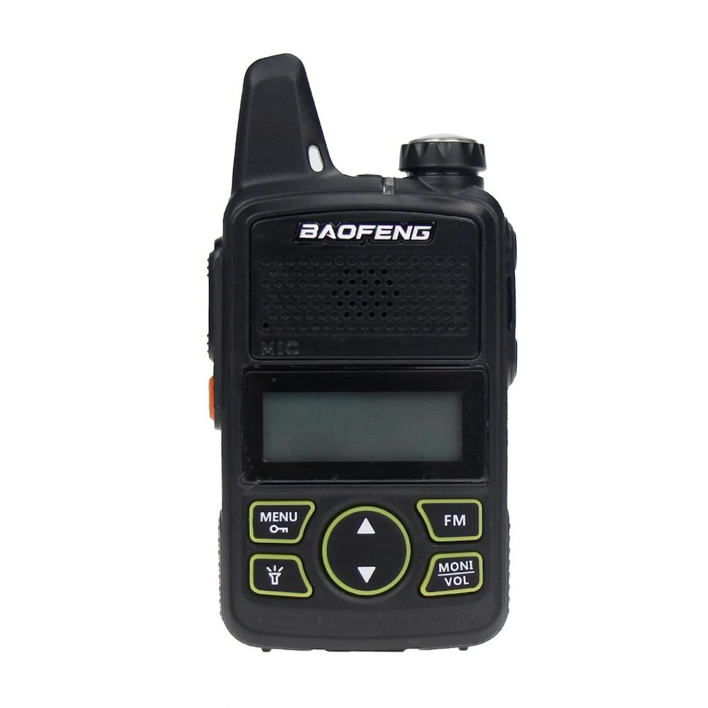 Baofeng BF-T1 Two Way Radio Mini Portable UHF 400-470MHz 20 Channels Ultra Thin Driving Hotel Civilian Walkie Talkie Ham Radio