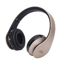 Wireless Earphone Bluetooth Headphones Over Ear Stereo Wireless Headset Soft Leather Earmuffs Built-in Mic for PC/Cell Phones/TV new tv rechargeable multifunction 2 4g wireless headset tv headphones with microphone for tv pc ipad phones mp3 gifts
