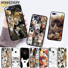 WEBBEDEPP Cat Cute Mouse Pig Cats Silicone Case for Huawei honor 6A 7A Pro 7X 8 Lite 8X 8C 9 9X Note 10 View 20