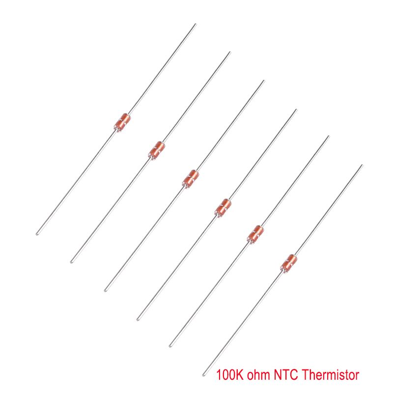 10 PCS Thermistor NTC 100 K ohm Temperature Sensor For 3D Printer Reprap цена