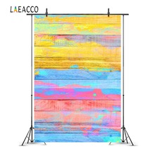 Laeacco Colorful Painted Wooden Board Baby Portrait Photography Backgrounds Customized Photographic Backdrops For Photo Studio ed 55 фигурка муравей скромняга