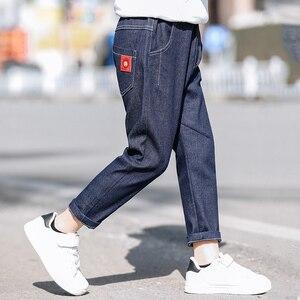 Image 3 - Leggings pour garçons, en coton, printemps automne, pantalons de survêtement à volants pour enfants, 3 à 12 ans, pour bébés garçons, 2020