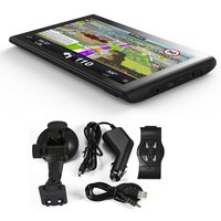 New Q8 7 Inch 8GB ROM+128M RAM Capacitive Touch Screen GPS Navigator 800*480 HD Portable GPS Navigation For Car Truck