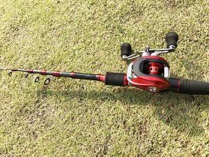 Image 4 - แบบพกพา spinning fishing rod สั้น ultralight travel เหยื่อล่อ rod เรือ rock sea stick pesca ขั้วโลก 1.8 2.7 m
