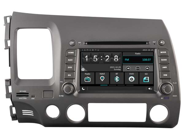 for honda civic 2006 2011 car dvd player car stereo car. Black Bedroom Furniture Sets. Home Design Ideas