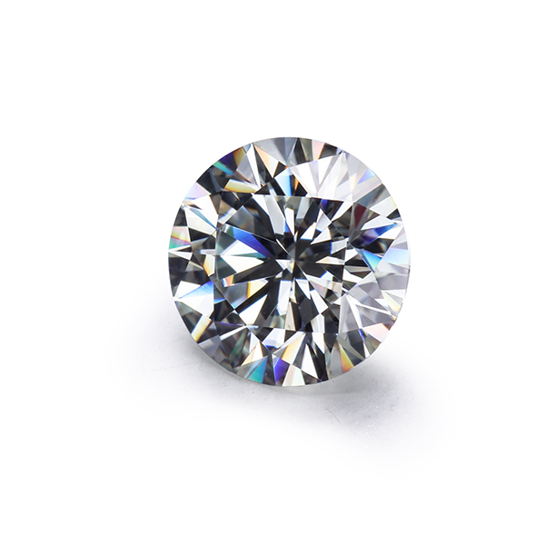Sales Loose Moissanites Stone IJ color Round  6.5mm 1ct Brilliant cut Moissanites Syntheti diamonds stone High Quality Gemstone 1