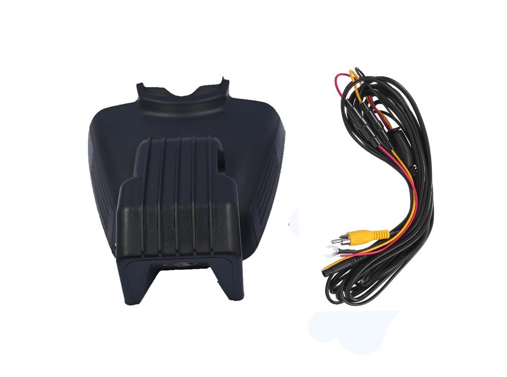 PLUSOBD ukryty samochód DVR Full HD 1080 P dla Benz C/E W204 W212 NT96655 z detekcja ruchu noc wizja samochodu kamera Dash Cam