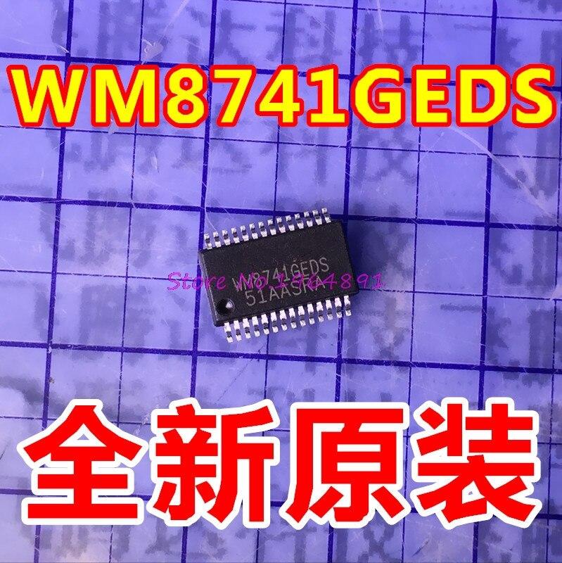 1pcs/lot WM8741GEDS/RV WM8741GEDS WM8741 DAC 24BIT STER 192KHZ 28SSOP1pcs/lot WM8741GEDS/RV WM8741GEDS WM8741 DAC 24BIT STER 192KHZ 28SSOP