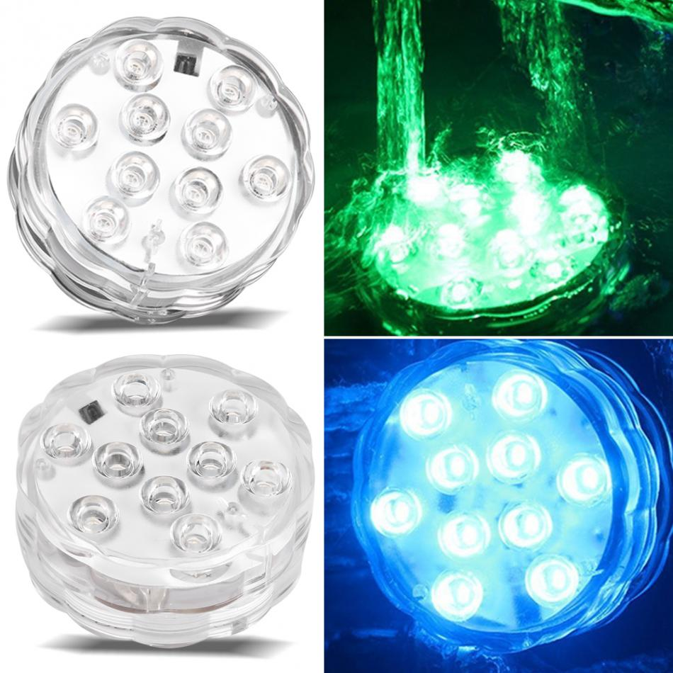Remote Control Fishing Underwater LED Light For Fountains ...