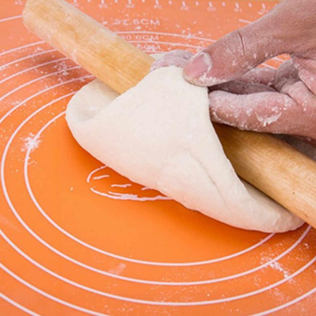 30*40 ซม.ซิลิโคนความต้านทานความร้อนเบเกอรี่แผ่นแป้งเค้ก Bakeware Liner แป้ง Pad ห้องครัวเครื่องมือทำอาหาร 2020 ใหม่ 64 P