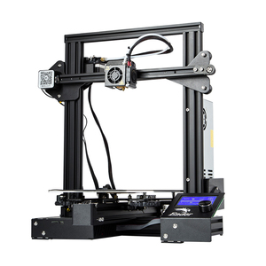 Image 2 - CREALITY 3D אנדר 3/Ender 3 פרו 3D מדפסת משודרגת מגנט לבנות צלחת לחדש הפסקת חשמל הדפסה MeanWell אספקת חשמל