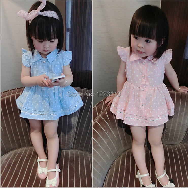 2015 baby girl clothes summer cool fresh clothing suit ...