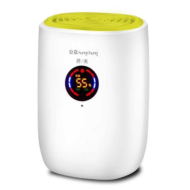 все цены на 25W Household mini dehumidifier bedroom basement Tide Dehumidifier Air dryer онлайн