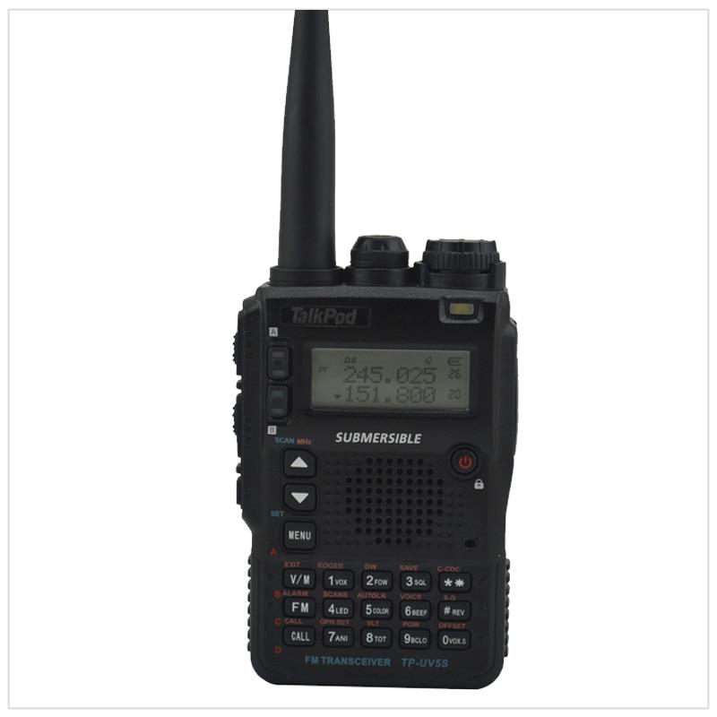 TalkPod TP-UV5S Tri-Band 136-174/240-260/400-520mhz 7W  2200mah Battery Two Way Radio Walkie Talkie Sister Yaesu VX-8DR